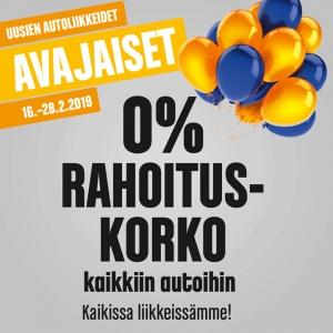AVAJAISET! Avasimme uudet liikkeet Hämeenlinnaan ja Hyvinkäälle. Sen kunniaksi avajaistarjoukset voimassa kaikissa liikkeissämme. Tervetuloa lauantaina klo 10-15 ja sunnuntaina klo 11-15 Lue lisää: https://www.vesijarvenauto.fi/meininki/avajaiset.html